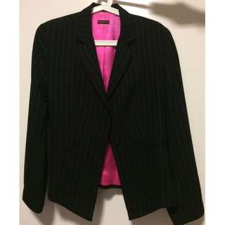 "Women""s black jacket"