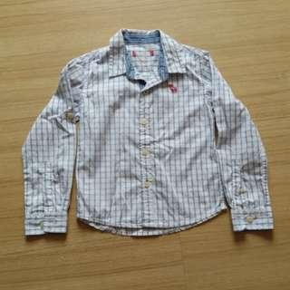 Padini long sleeve polo shirt