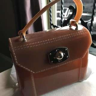 FURLA (mini jelly bag)