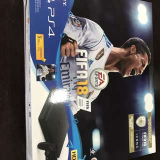 Brand New PS4 FIFA18 bundle