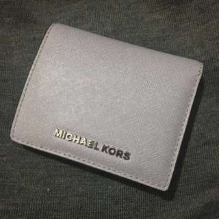 michael kors wallet 灰紫短銀包