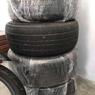 BMW Zeetex tyre with standard sportrim 16""