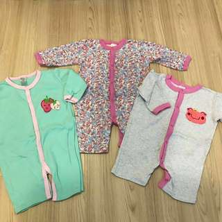 Next Sleepsuits (Pack of 3)