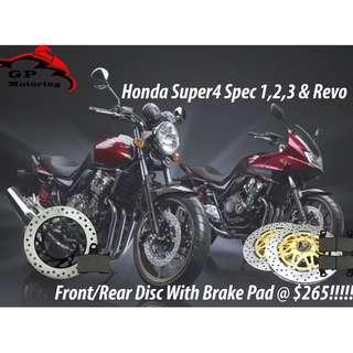 Honda Super 4 Spec 1,2,3 and Revo