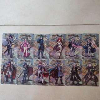 Amiibo cards for Fire Emblem Warrior / Super Mario Odyssey