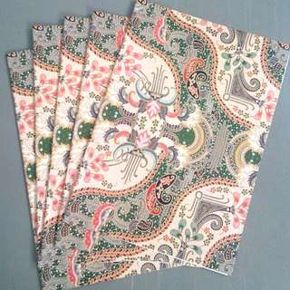 Batik Gift Wrapping Papers