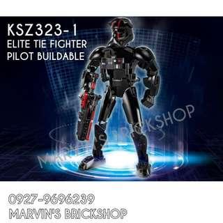 For Sale Latest Elite TIE Fighter Pilot Buildable Figure