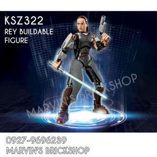 For Sale Latest Star Wars Rey Buildable Figure