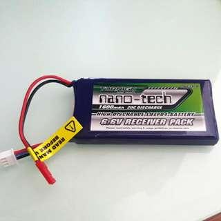 Turnigy 6.6v 1600mAH Battery