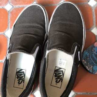 Vans 懶人鞋 24號