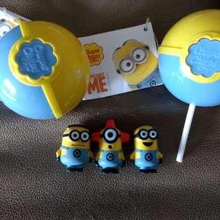 Chupa Chups Minion Toy