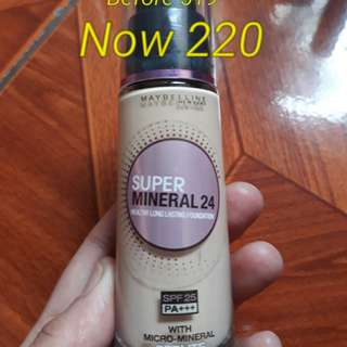 Maybelline Super Mineral 24