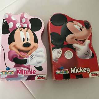 PL Mickey Mouse books