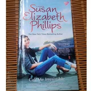 novel call me irresistible ( mempelai yang sempurna )