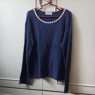 Vintage Dark Violet long sleeves