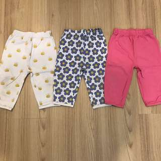 Mothercare Pants (Set of 3)