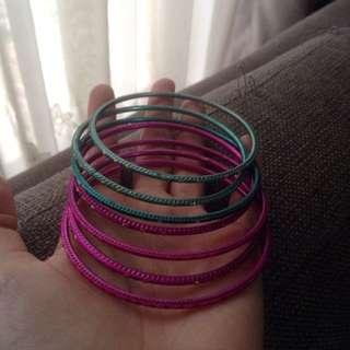 Tosca and Pink Bracelet