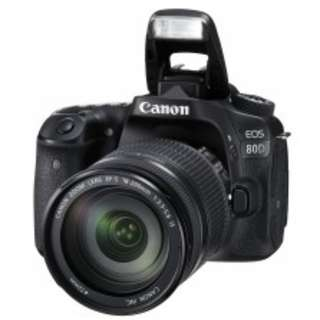 Canon EOS 80D Kit III (EF-S18-200 IS) DIGITAL SLR CAMERA