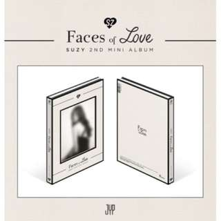 Suzy 2nd Mini Album - Faces of Love