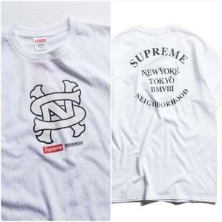 Supreme X Neighborhood NBHD 聯名第二彈 收藏