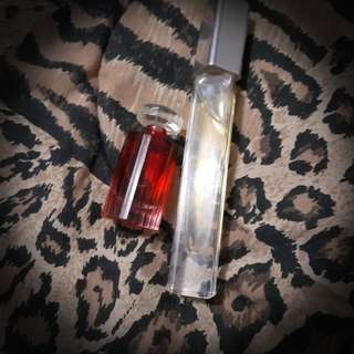 Ck & lancome perfume 2p