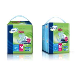 Tena Adult Diapers size M