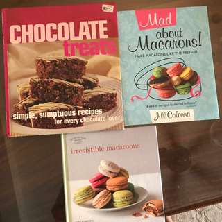 Baking cook books