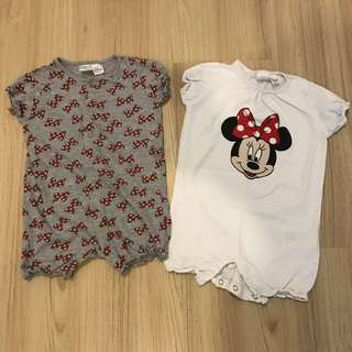 H&M x Disney Rompers (Set of 2)