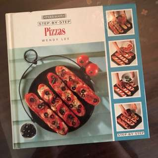 Step by step pizza cookbook