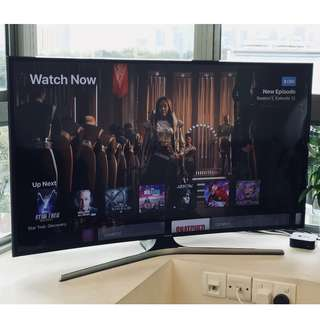 "Samsung 4K 49"" Curved Smart TV UA-49KU6300"