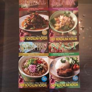 Chef norzaina nordin's cookbooks