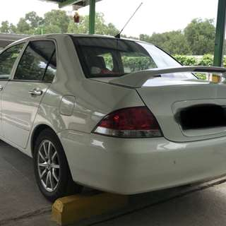 Mitsubishi lancer 1.6 manual