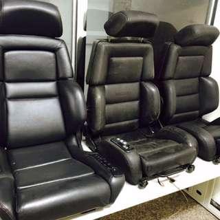 RECARO 電動椅 W124 500E 300CE W126 SEC 190E C36 TE