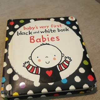 FREE Baby's 1st Black& White Book (Free if you purchase any toys for RM50 & above! From me)