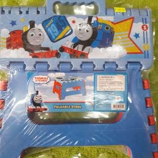 Thomas and friends  Foldable Stool 湯馬士摺合手挽椅/櫈(約闊29cm×深25cm高18cm)