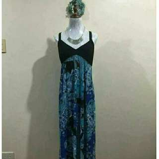 US fashion long dress