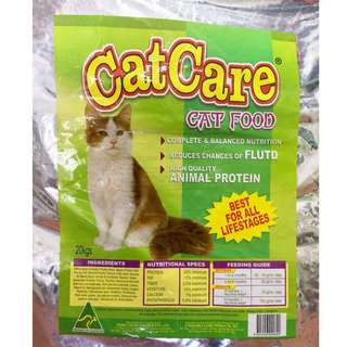 Catcare Cat Food