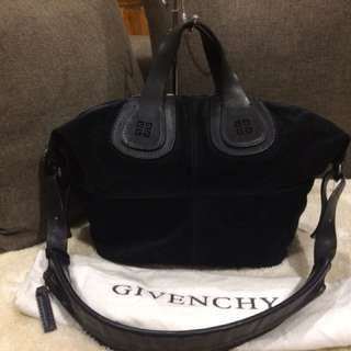 Authentic Givenchy Nightingale Suede With Dustbag