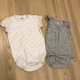 H&M Rompers (Set of 2)