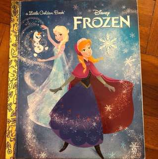 Disney frozen (a little golden book)