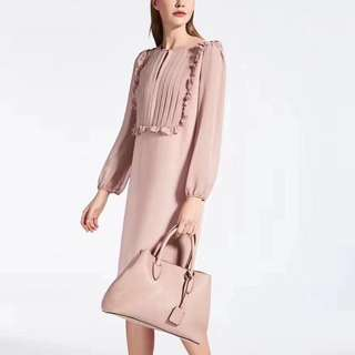 Maxmara frill dress