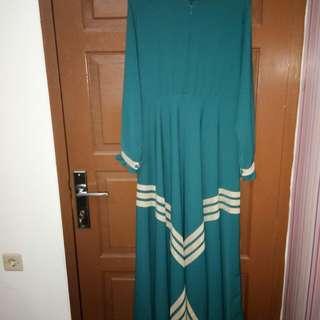 Dress gamis toska