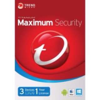 Trendmicro Maximum Security / Anti Virus Software