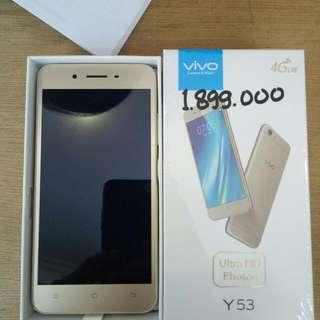 Vivo Y53...Cash and Credit
