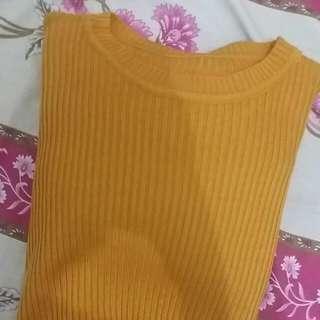 Sweater mustard