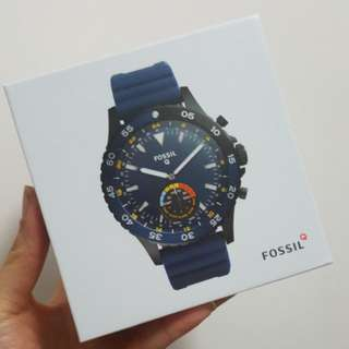 Fossil hybrid men's watch