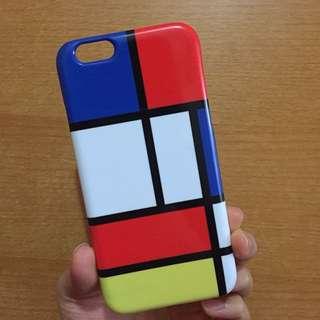 🚚 蒙德里安iPhone 6/6s手機殼