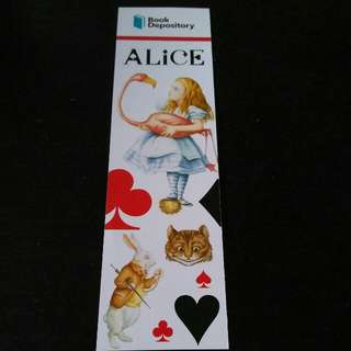 Alice Bookmark