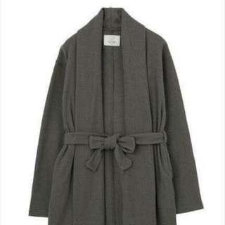 全新轉賣日本專櫃品牌ungrid深灰針織綁帶外套 #Sara #正韓