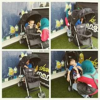 Mini walker stroller